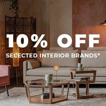 10% Off Interiors! Use code: HOME10
