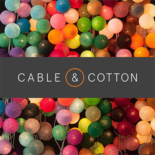 Cable and cotton logo
