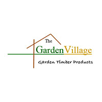 The garden village logo