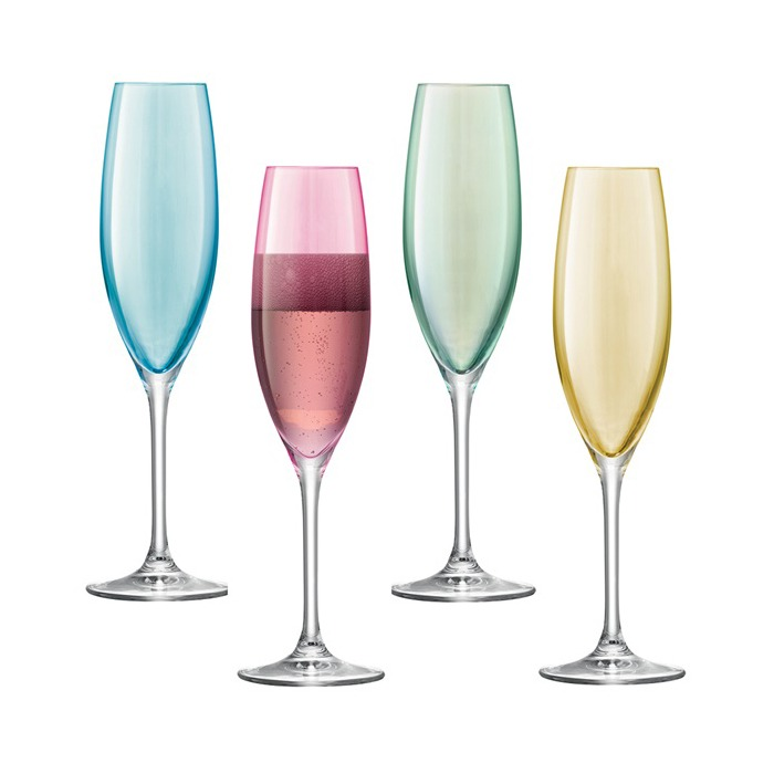 LSA-Pastel-Coloured-Champagne-Flute-Set