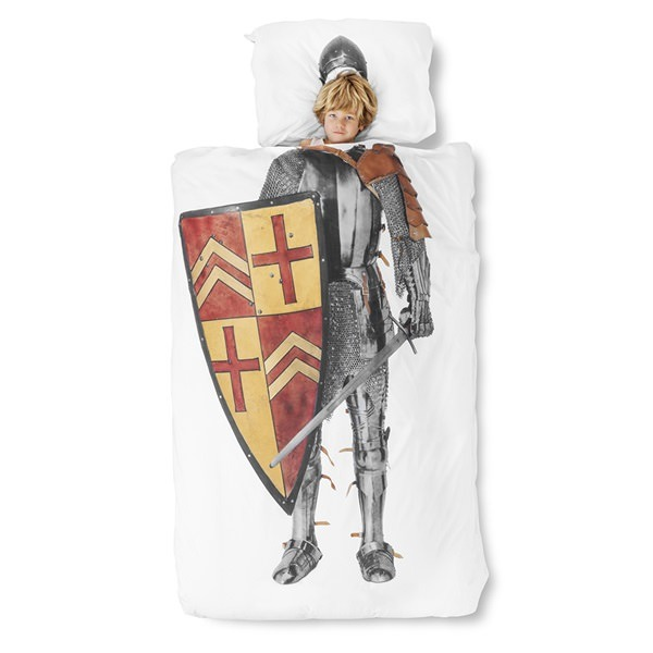 Snurk-Knight-Single-Duvet-Boy