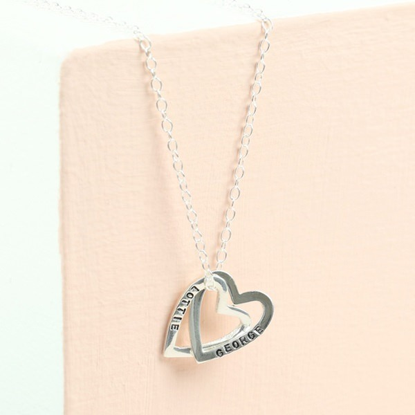 Sterling-Silver-Interlinking-Hearts-Necklace-9319