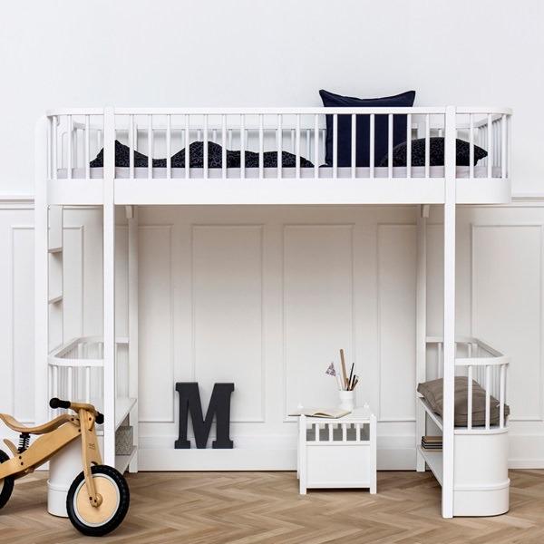 Childrens-Luxury-Loft-Bed-White-Room