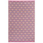 Averio-Fab-Hab-Orange-and-Purple-Rug
