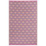 Averio-Fab-Hab-Orange-and-Purple-Rug