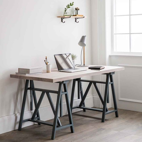 Worktop Trestle Desk