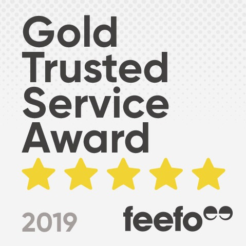 Cuckooland Awarded FEEFO Gold Trusted Service Award 2019