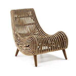 Wooden Akit Armchair