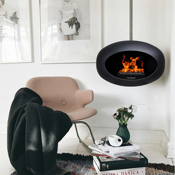 New Le Feu Bioethanol Fireplace. No Smoke, No Chimney, No Fuss!