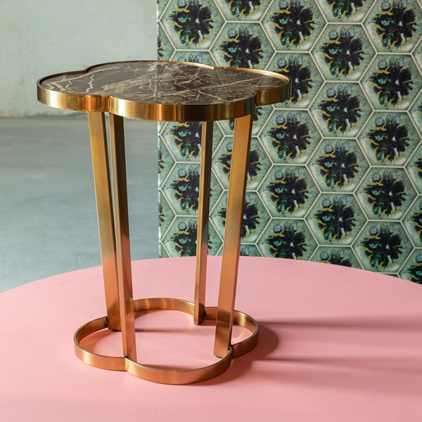 Bold Monkey It's Marblelicious Side Table