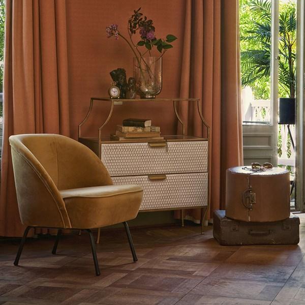 Vogue Velvet Armchair by BePureHome