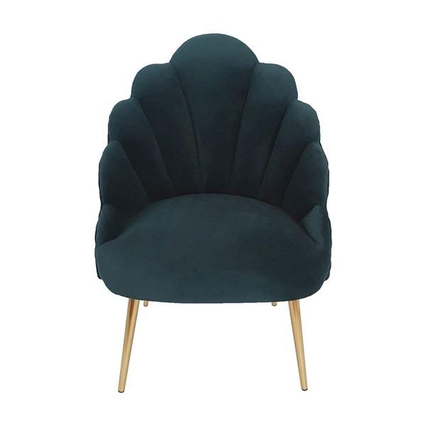 Chelsea Tulip Velvet Chair