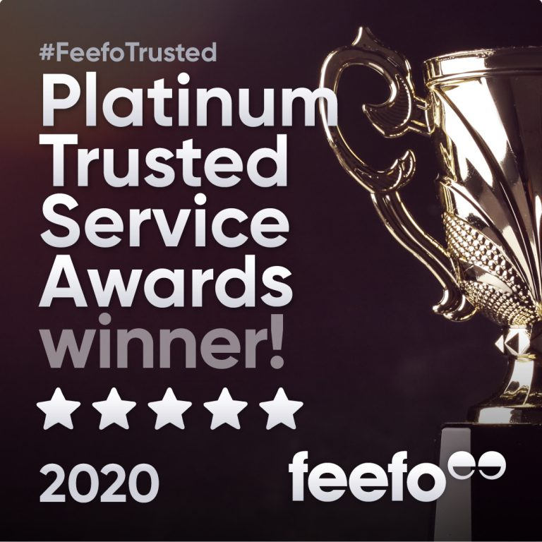 Cuckooland Awarded FEEFO Platinum Trusted Service Award 2020