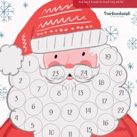 The Printable Advent Calendar by Cuckooland