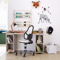 How to Create a Fun but Functional Kid's Workstation