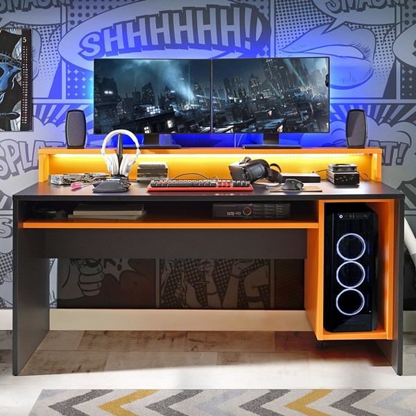 It's Game On with a Gaming Desk!