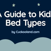 Kids Bed Types Infographic