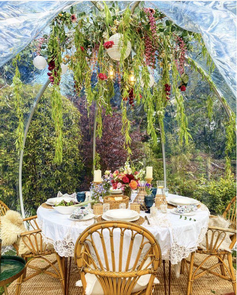Garden Igloo styling tips from Pandora Maxton