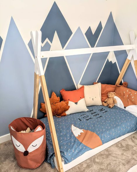 Kids Bedroom Decor inspired by Nature
