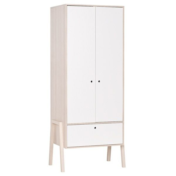 2-Door-Wardrobe-Acacia-White-Closed
