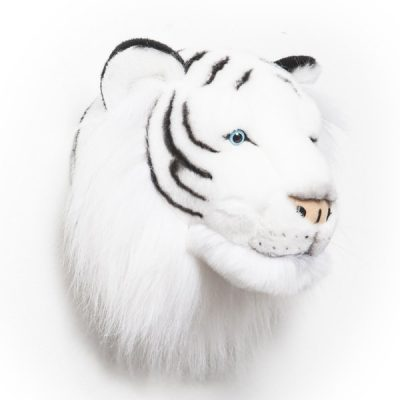 Albert-Plush-White-Tiger-Childrens-Animal-Head(B)