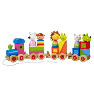 Animal-Puzzle-Train-Cutout