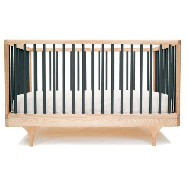 Black-Pine-Baby-Cot-Crib-Toddler-Bed-Kalon