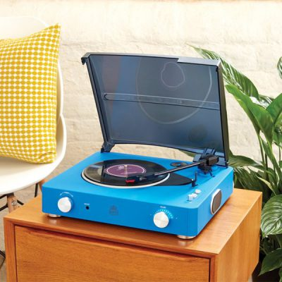 Blue-Stylo-2-Record-Player