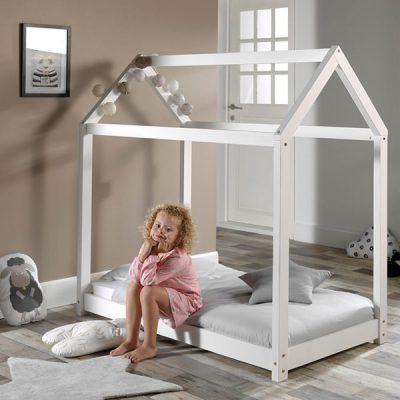 Cabane-Junior-Bed-in-White
