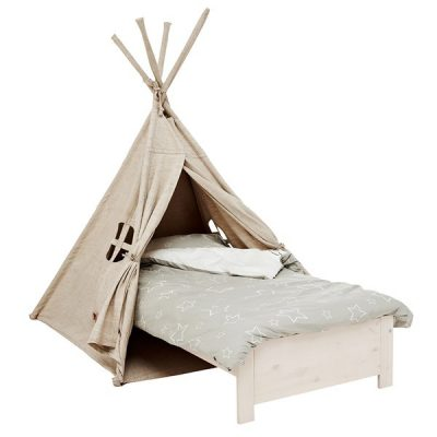 Camp-Canyon-Tipi-Tent-Bed