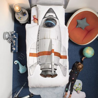 Childrens-Snurk-Spaceship-Single-Duvet-Cover