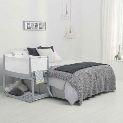 Contemporary-Scandinavian-Style-Newborn-Cot-Bed-in-Dove-Grey