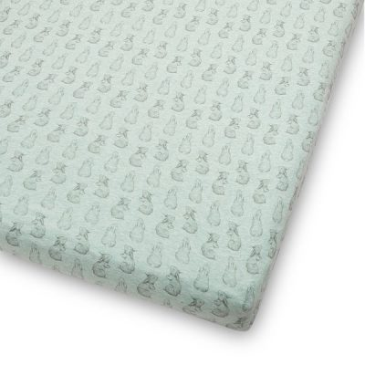 Cot-Bed-Sheet-in-Rabbit-Print