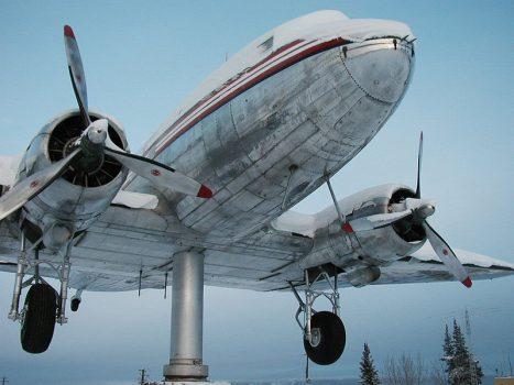 Douglas Aeroplane Weathervane