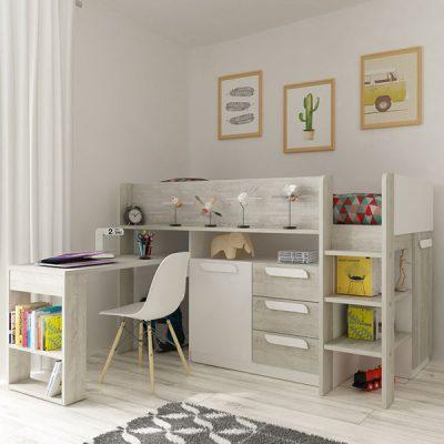 Trasman Girona Mid Sleeper Cabin Bed