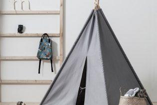 Kids-Concept-Grey-Teepee-Tent