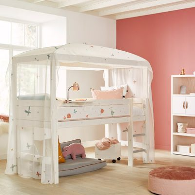 Kids-Luxury-Fairy-Dust-Mid-Sleeper-Four-Poster-Bed