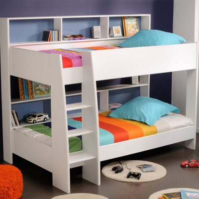 Kids-Tam-Tam-Bunk-Bed-In-Blue-And-White