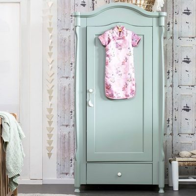 Luxury-Kids-Large-Wardrobe-in-Sea-Green