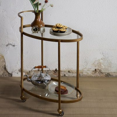 Metal-Antique-Brass-Push-Trolley (1)