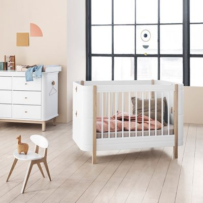 Convertible Baby Cot Bed by Oliver Furniture
