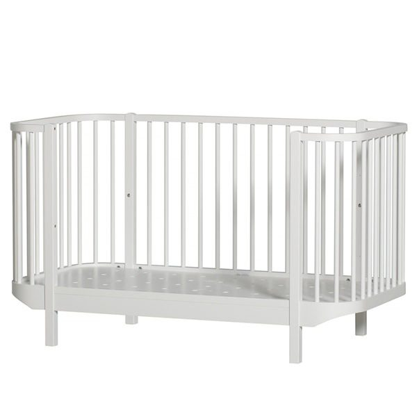 Oliver-Furniture-White-Adjustable-Cot