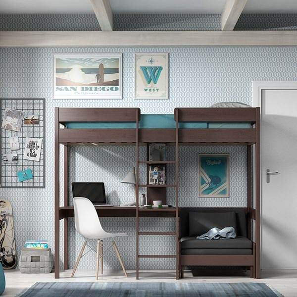 Pino-Contemporary-Taupe-High-Sleeper-with-Sofa-Bed