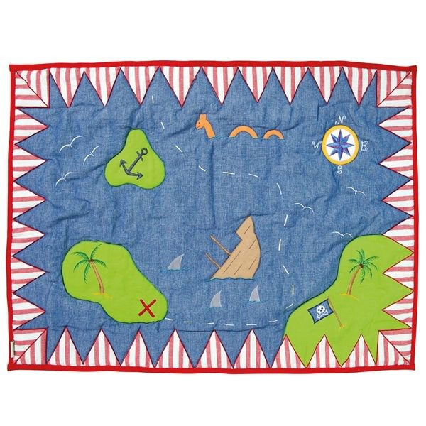 Pirate-Shack-Floor-Quilt-by-Win-Green