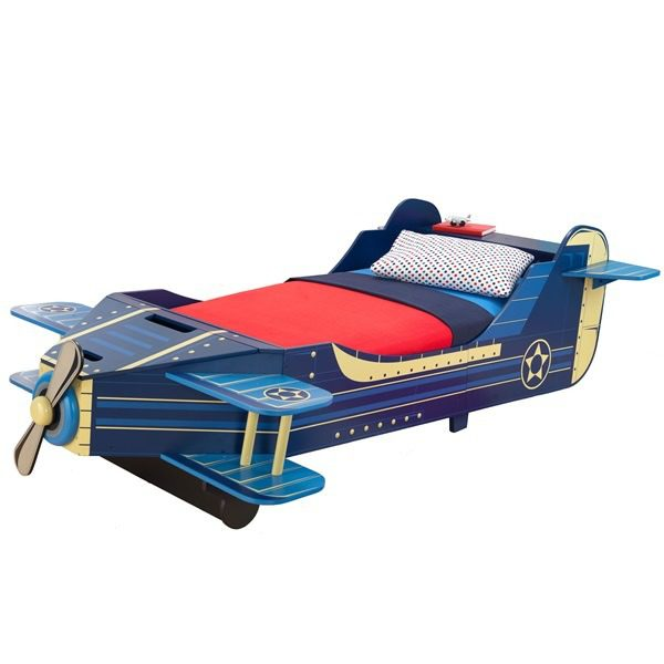 Plane-Toddler-Bed