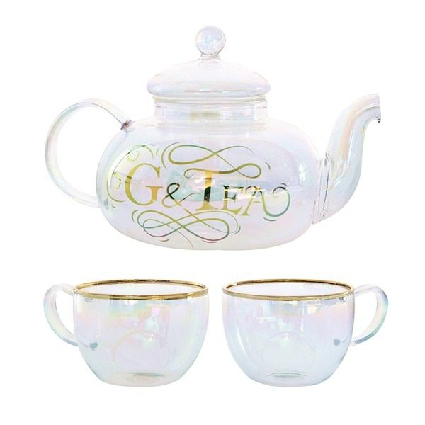 Quality-Rainbow-Tinted-Glass-Teapot-and-Teacups