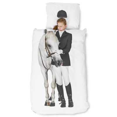 Snurk-Horse-Duvet-Single-Girl