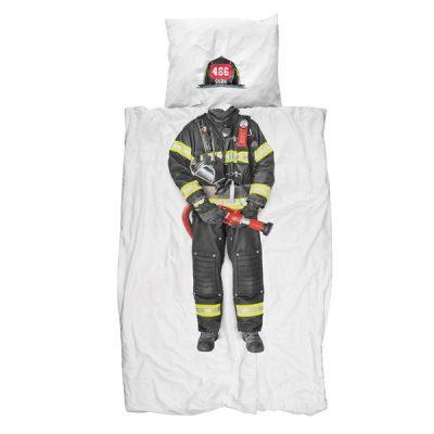 Snurk Fireman Duvet Cover