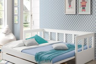 White-Pino-Day-Bed-with-Pull-Out-Bed-and-Storage-Drawer (1)