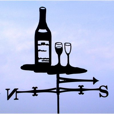 Wine-Traditional-Weather-Vane-TheProfilesRange